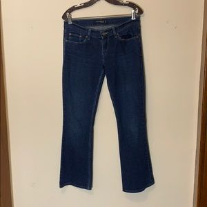 Levi's 524 (too superlow) bootcut jeans, juniors 9